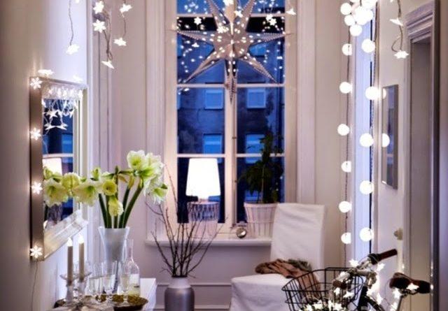diy-christmas-decor-for-small-hallway