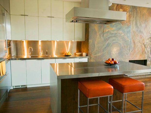modern small kitchen countertops